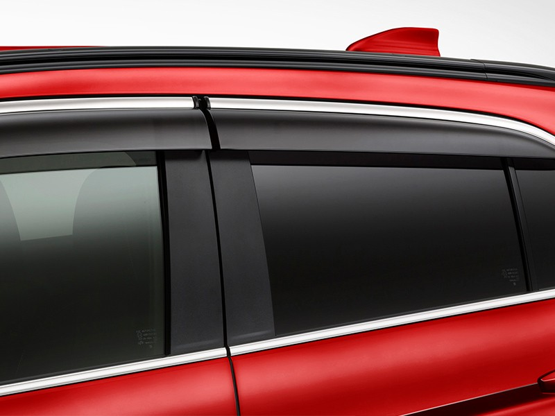Accessories Car - Side Window Deflector - Eclipse Cross - Mitsubishi Dealer Jakarta - Harga Dealer Resmi Mitsubishi