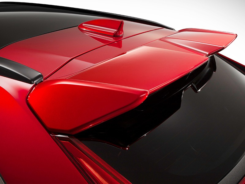 Accessories Car - Tailgate Spoiler-Red - Eclipse Cross - Mitsubishi Dealer Jakarta - Harga Dealer Resmi Mitsubishi