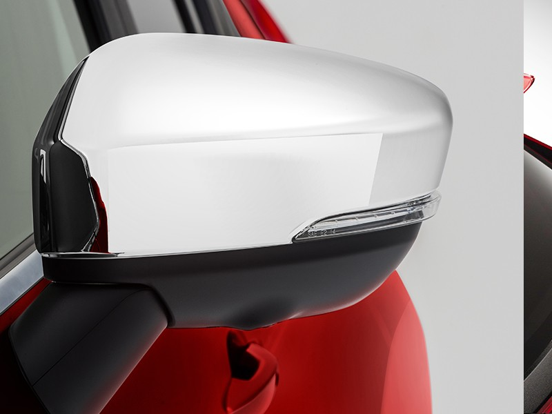 Accessories Car - Chrome Door Mirror Cover - Eclipse Cross - Mitsubishi Dealer Jakarta - Harga Dealer Resmi Mitsubishi
