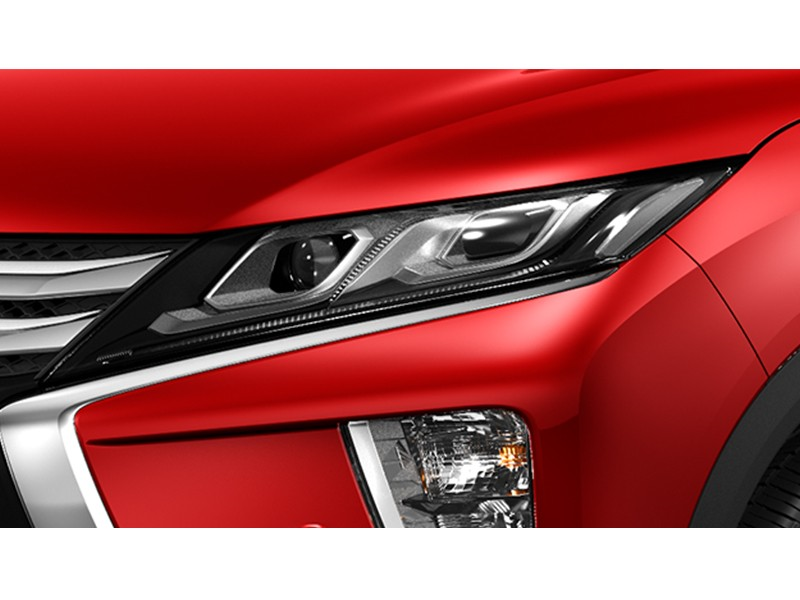 Exterior Car - Projector LED Headlamp - Eclipse Cross - Mitsubishi Dealer Jakarta - Harga Dealer Resmi Mitsubishi