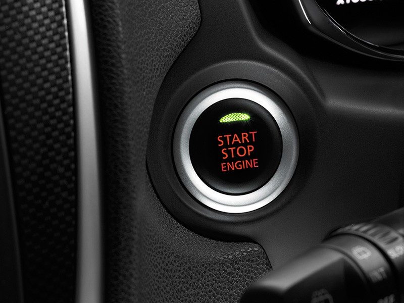Interior Car - Start Stop Engine Button - Outlander Sport - Mitsubishi Dealer Jakarta - Harga Dealer Resmi Mitsubishi