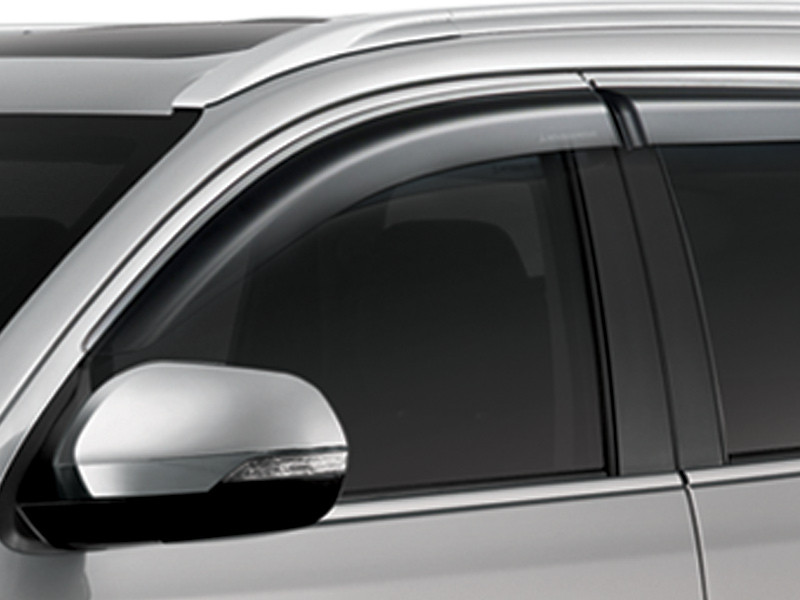 Accessories Car - Side Window Deflector - Pajero Sport - Mitsubishi Dealer Jakarta - Harga Dealer Resmi Mitsubishi