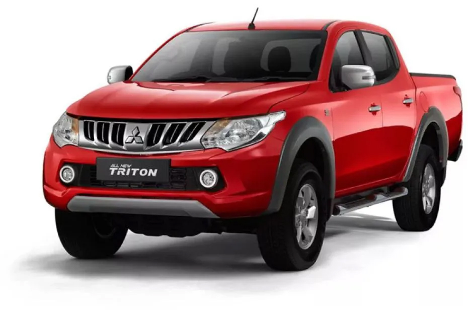 Color Car Triton 4x4 - Red Solid - Mitsubishi Dealer Jakarta | Showroom Promo Harga Mitsubishi
