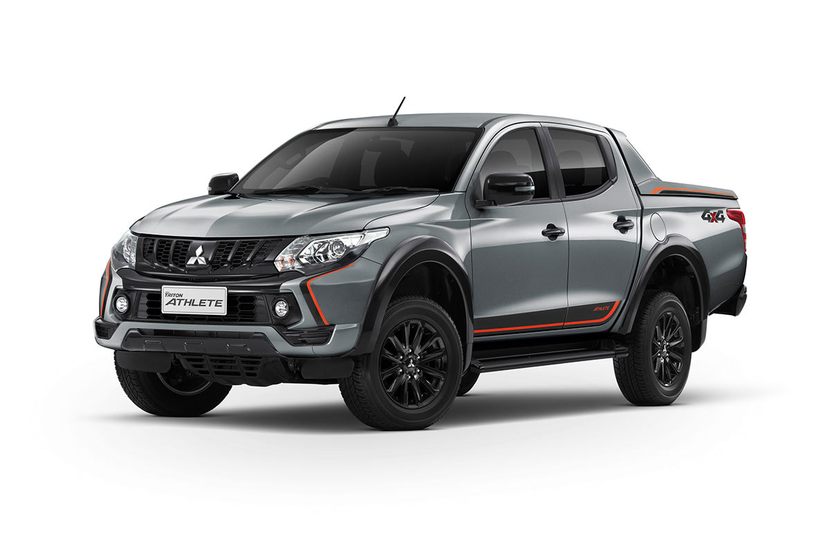 Color Car Triton Athlete - Titanium Gray - Mitsubishi Dealer Jakarta | Showroom Promo Harga Mitsubishi