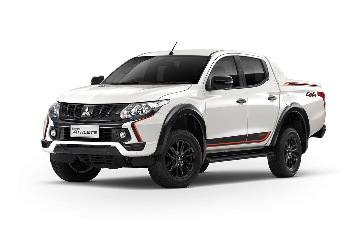 Color Car Triton Athlete - White Pearl - Mitsubishi Dealer Jakarta | Showroom Promo Harga Mitsubishi
