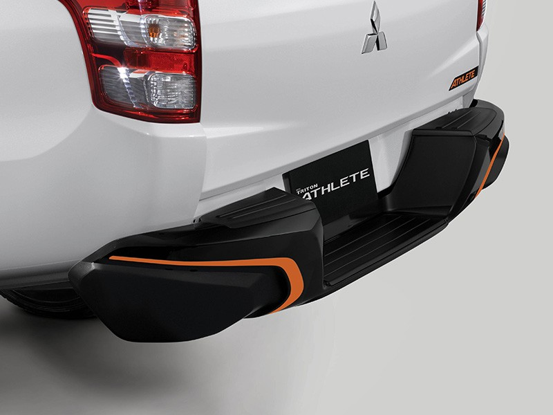 Interior Car Triton Athlete - New Muscular Rear Bumper Design - Mitsubishi Dealer Jakarta | Showroom Promo Harga Mitsubishi