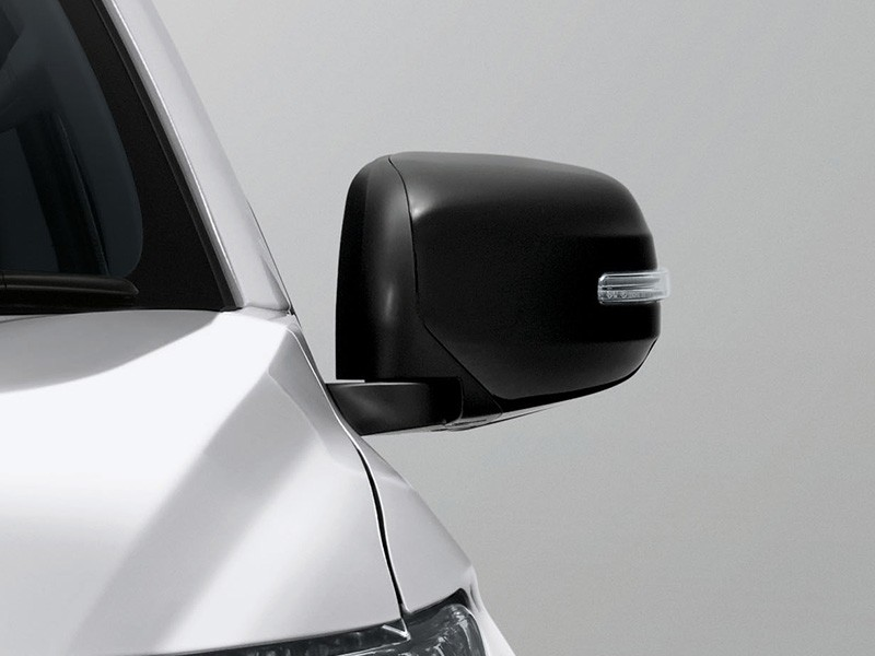 Interior Car Triton Athlete - Sporty Black Electric Foolding Door Mirror - Mitsubishi Dealer Jakarta | Showroom Promo Harga Mitsubishi