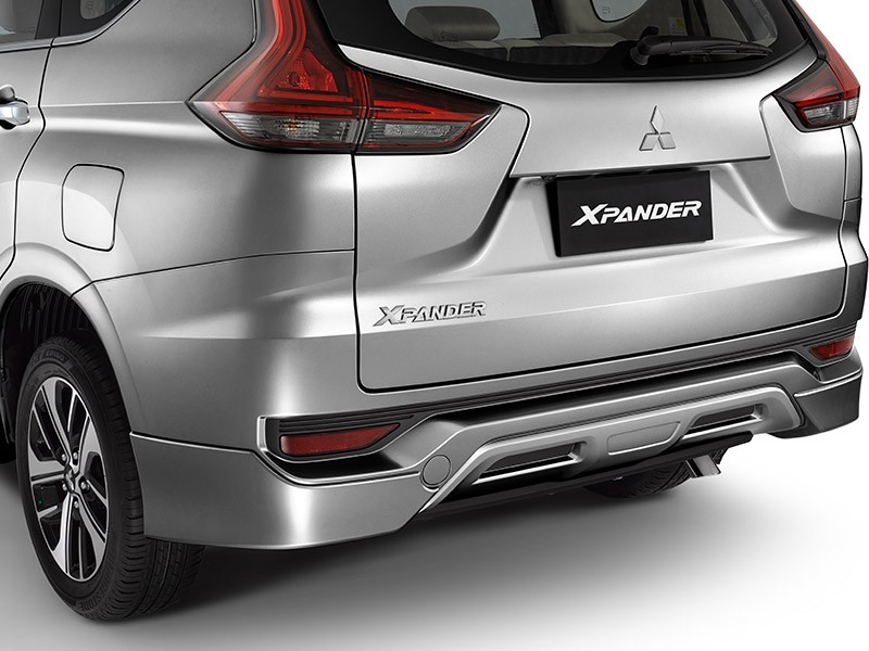 Accessories Car Xpander - REAR AIRDAM - Mitsubishi Dealer Jakarta | Showroom Promo Harga Mitsubishi