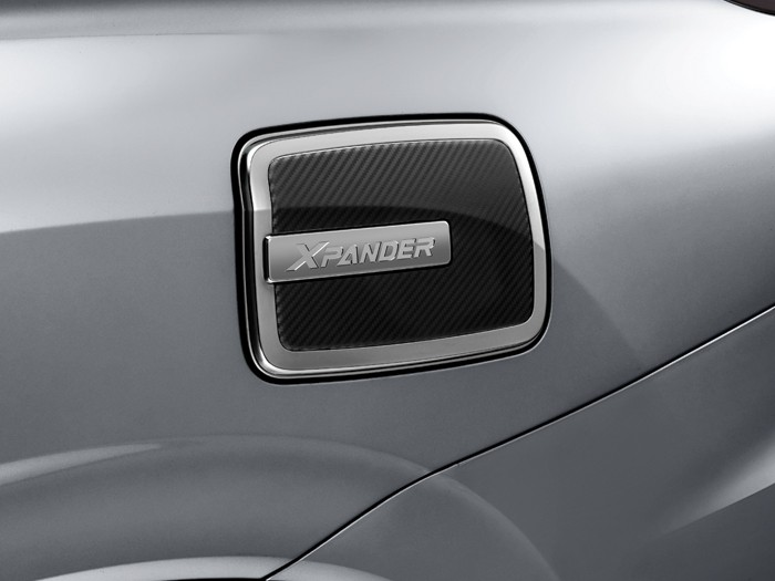 Accessories Car Xpander - FUEL LID - Mitsubishi Dealer Jakarta | Showroom Promo Harga Mitsubishi