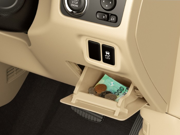 Interior Car Xpander - Coin Box - Mitsubishi Dealer Jakarta | Showroom Promo Harga Mitsubishi