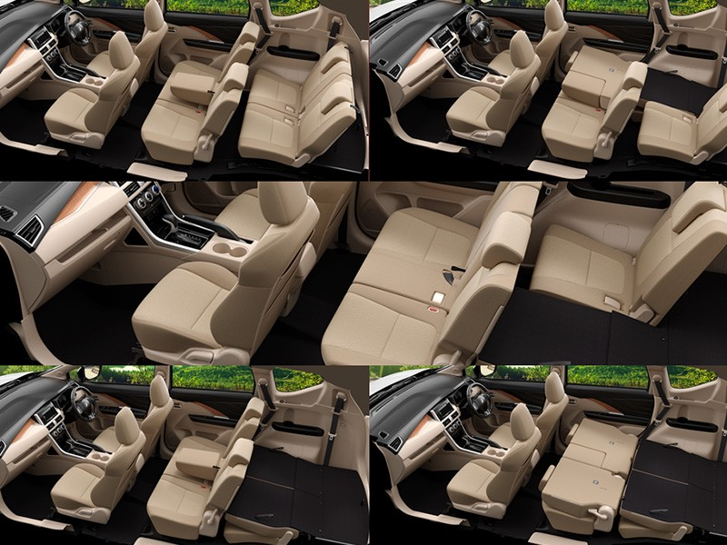 Interior Car Xpander - Seating Arrangement Yang Fleksibel - Mitsubishi Dealer Jakarta | Showroom Promo Harga Mitsubishi