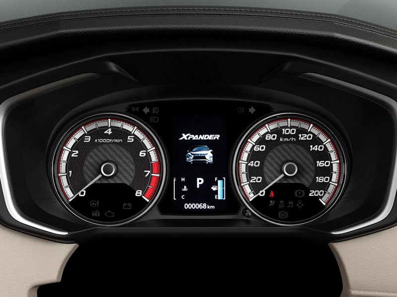 Interior Car Xpander - High Contrast Meter Cluster (Color Mid) - Mitsubishi Dealer Jakarta | Showroom Promo Harga Mitsubishi
